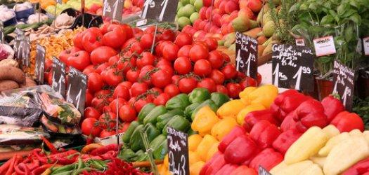 groente en fruit markt
