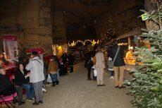 Kerstmarkt Valkenburgse grotten